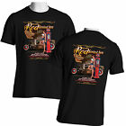 Vintage Hot Rod T Shirt Pinup Girl Rat Rod Mens Front and Back Free Shipping