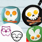 8 Style Cartoon Omelette Mold Safety Silicone Creative Egg Shape Kitchen Tools