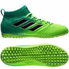 adidas Ace 17.3 Astroturf Trainers - Solar Green/Core Black/Core Green - Kids
