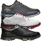 CALLAWAY 2017 XFER NITRO WATERPROOF MENS TOUR PERFORMANCE LEATHER GOLF SHOES