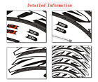 Road bike decals Firecrest zipp 808 speed weaponry Carbon Wheel rim set Stickers
