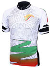 Mexico Aztec Cycling Jersey by World Jerseys mens short sleeve with DeFeet socks