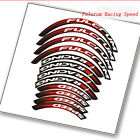 Road Carbon bike Stickers for fulcrum racing Speed Bicycle 50 mm rim depth decal