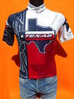 TEXAS Maillot Jersey Camiseta Maglia Sugoi Made in Canada Red Lone Star State