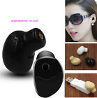 Mini Wireless Bluetooth V4.1 headphone Invisible Car headset Magnetic Charging