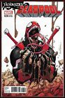 DEADPOOL #28 (2017) NM+ VENOMIZED VARIANT DAVID LOPEZ SPIDER-MAN X-23 MARVEL