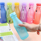 Unbreakable Leak-proof Sport Travel Cycling Camping BPA Free 550ml Water Bottles