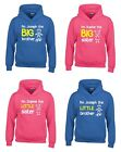 Personalised I'm The Big/Little Brother/Sister Boys & Girls Hoodies Customised