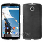 Brushed Gel TPU Skin Case Cover for Motorola Nexus 6,XT1100,XT1103,XT1105