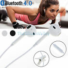 Wireless Bluetooth Headset Stereo Headphone Earphone Sport for iPhone Samsung S8