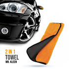 """Towel Microfiber Soft Touch Car 2 in1 Faced Soft Touch Microfiber Towel 16x18"""""""