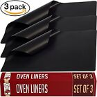 3 NEW EXTRA THICK Liners Teflon Oven Cooker Liner Non Stick Heavy 40 x 50 cm