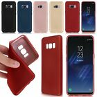 Soft Silicone TPU Matte Case Cover Bumper Skins For Samsung Galaxy S8/S8 plus