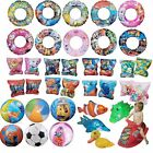 Kids Boys Girls Inflatable Swim Rings Arm Bands Beach Ball Toys Armbands