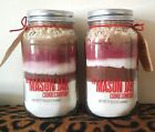 THE MASON JAR COOKIE COMPANY VELVET CUPCAKE MIX - ALL NATURAL - ADD EGGS & MILK