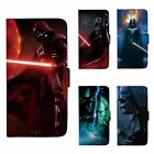 Star Wars Darth Vader Patterned Wallet Flip Case For iPhone 5 6 7 8 SE Plus 104C $9.99 AUD on eBay