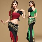 AU NEW Belly Dance Pants Tribal Style Size 8 16 Sarong Dancing Yoga Practice set