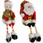 Pre-Lit Novelty Sitting Santa Snowman LED Light Up Body and Legs Christmas Decor