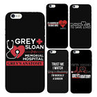"Grey's Anatomy quote ""it's a beautiful day to save lives"" iPhone Case"