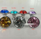 30mm Glass Diamond Crystal Cabinet Pull Handle Door Knob 7 Color Choose
