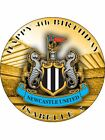 NEWCASTLE FC PERSONALIZED ICING CAKE TOPPER'S VARIOUS SIZES