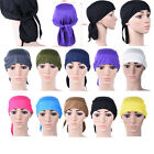 Ladies Hip Hop Band Hat Cap Hijab Headwear Wrap Hair Loss Chemo Bandana Turban