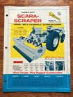 Vintage Deeco Scara-Scraper Hydraulic Road Construction Equipment Brochure