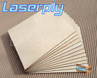 Birch PLywood sheets from A4 for craft, Laser, Pyrography, 3mm Laserply FSC