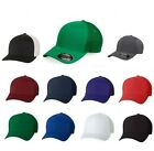 Kyпить FLEXFIT Mens Trucker Cap with Mesh Sides And Back Fitted Hat S/M L/XL Ball 6533 на еВаy.соm