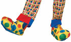 Clown Polka Dotted Soft Stuffed Adult Shoe Covers Forum Novelties