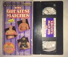 WWF - Greatest Matches (1986, VHS) WWE WCW COLISEUM VIDEO RARE