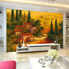 3D Meadow Pine House Wall Paper Wall Print Decal Wall AJ WALLPAPER CA