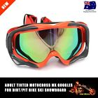 Unisex Men Women Adult GOGGLES Wind Ski Snow Snowboard GOGGLES Skiing Glasses