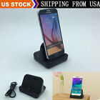 For Samsung S5 S6 S7 edge Desktop Charger Stand Docking Station Sync Dock Cradle
