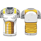 Dragon Ball Z Compression Workout T-shirt Cosplay Anime Training Jersey Costume