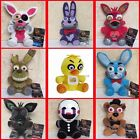 7 Five Nights at Freddy's 4 FNAF Horror Game Plush Dolls Kids Plushie Toys