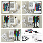 24/44 Key IR Remote Controller Box AC/DC 12V Fr LED RGB 3528 5050 Light Strip US