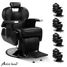 All Purpose Reclining Hydraulic Barber Chairs Salon Shampoo Beauty Spa Equipment