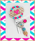 Cute band-aid ID reel Badge holder~Gorgeous Ultimate Bling Badge~ Medical Badge