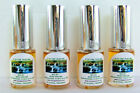 4 Pack Of 1/2 oz Spray Samplers Of Best Selling Double Note Floral Perfumes
