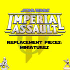 Star Wars Imperial Assault Replacement Game Parts - Miniatures