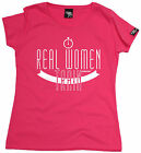 Real Women Train WOMENS T-SHIRT tee birthday fitness gym run