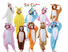 unisex children animal pajamas carnival cosplay costumes
