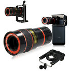 8X Zoom Optical Telephoto Camera Clip On Telescope Lens For Mobile Smart Phone