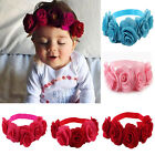 USA Kids Baby Girl Toddler Flower Headband Hair Band Headwear Hair Accessories