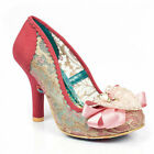 Irregular Choice Glinda Pink (A) High Stiletto Heel Shoes