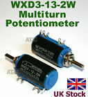WXD3-13-2W 10 turn Potentiometer Wirewound Variable Precision multi-turn POT -UK