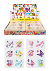 Childrens 36 or 72 Fairy temporary tattoos party bag christmas stocking fillers