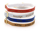 Personalised Cat Kitten Collar ID Tag, Ancol Quality, Laser Engraved, UK made