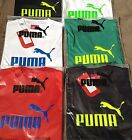 PUMA LADIES/GIRLS T SHIRT TEE SHIRT TOP SPORTSWEAR 7 COLOURS GREAT LOGO SIZE 12